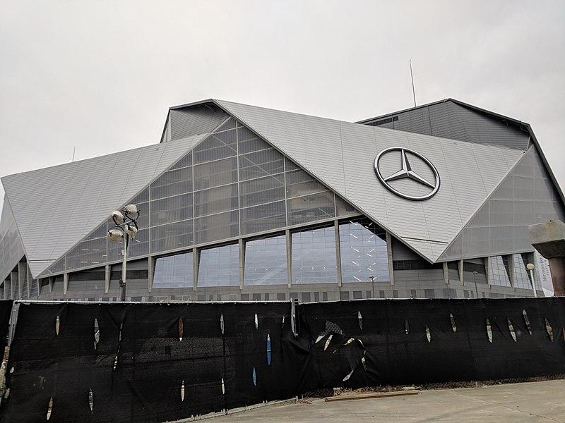 Mercedez-Benz+Stadium+in+Atlanta%2C+GA%2C+the+site+of+Super+Bowl+LIII.+%28Wikimedia+Commons%29