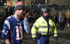 In pictures: 3,000 UMass students celebrate New England's sixth Super Bowl win