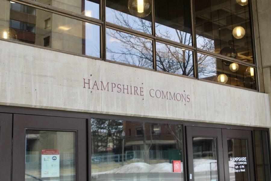 Hampshire Dining Common Exterior