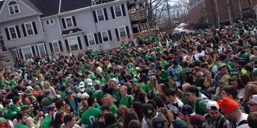 Blarney Blowout in 2014.  (Taylor Gilmore, Amherst Wire)