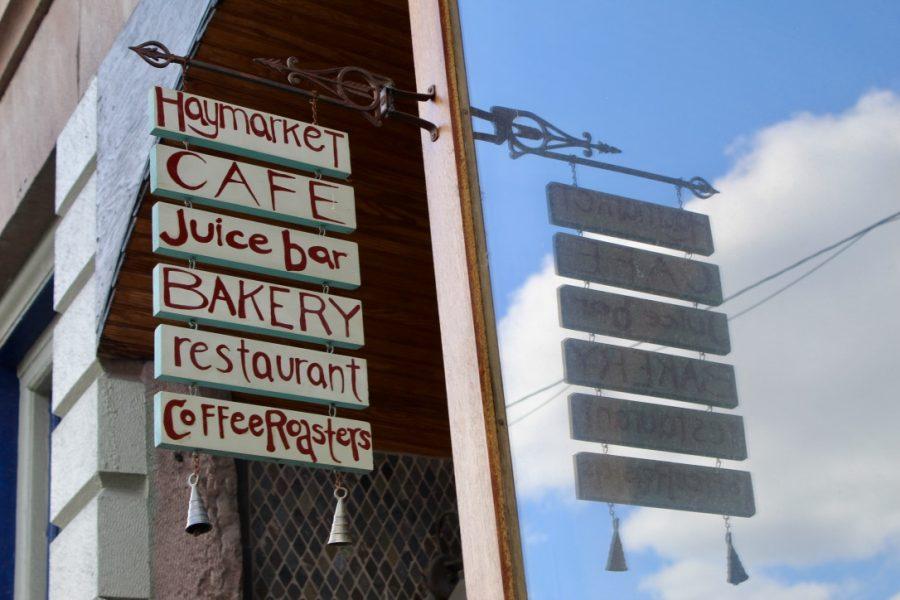 Haymarket Cafe in Northampton(David Anderson/Amherst Wire)