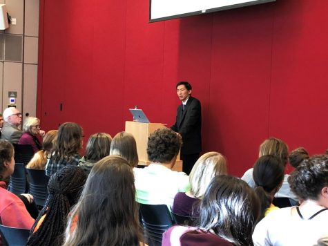 Justice Goodwin Liu discusses school desegregation at annual lecture