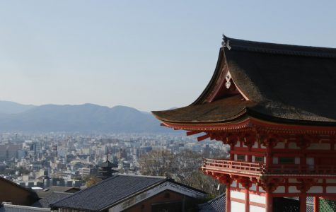 Kiyomizu Temple looking over Kyoto