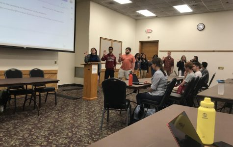 Emotions run high during first Student Government Association meeting