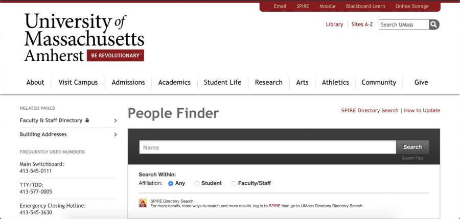 UMass+People+Finder+to+add+pronouns+to+honor+International+Pronouns+Day