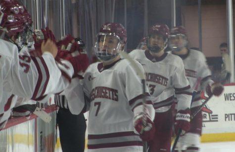 Highlights: UMass Hockey slugs out win over AIC
