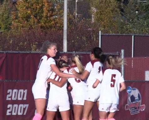 Highlights: UMass women's soccer recovers late for win