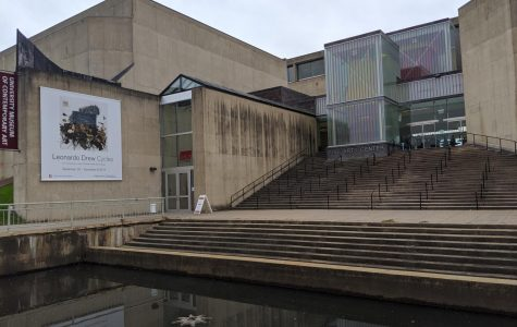Five Swastikas were drawn on the UMass Fine Arts Center