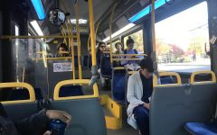 Riding the bus during the cold season at UMass