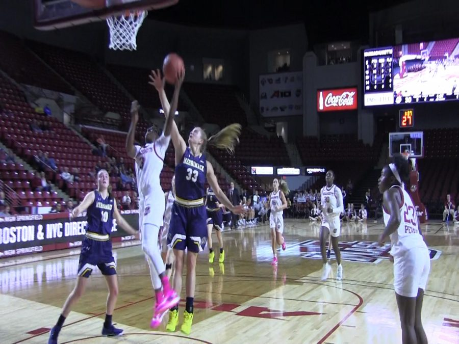 Highlights: UMass Women's Basketball falls in opener