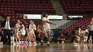 Women's Basketball: UMass pummels Brown