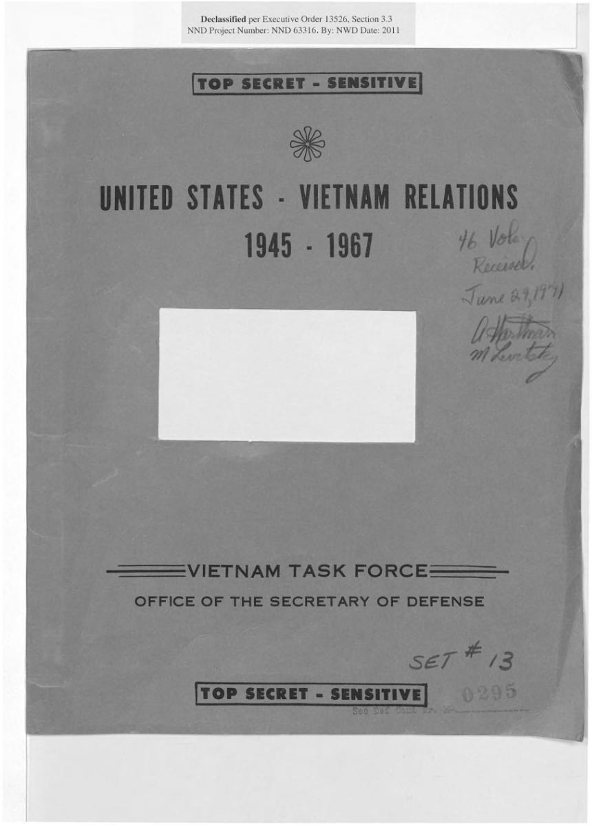 (Pentagon/Wikimedia Commons)