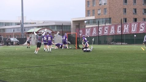 Men's Lacrosse Highlights: UMass's offensive attack overwhelms Albany