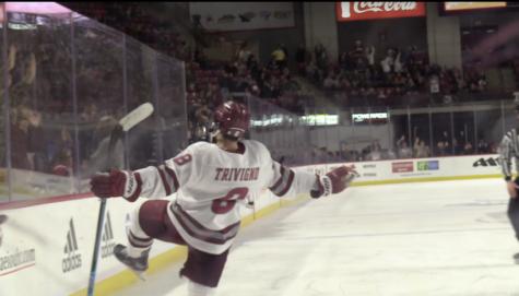 Hockey Highlights: UMass Hockey beats Hockey East rival, UConn