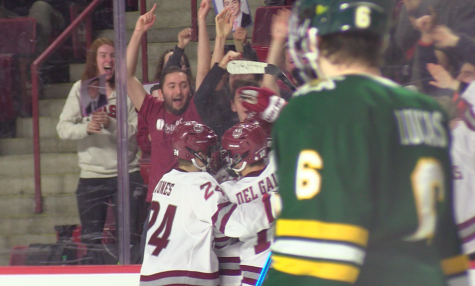 UMass Hockey wins final regular season game