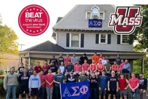 Alpha Sigma Phi raises money for local businesses