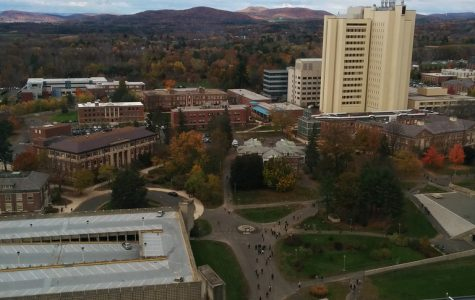 The view from the 23rd floor of the W.E.B Dubois Library/ posixeleni