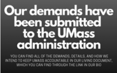 UMass RJC announces their demand submission via Instagram/ @umassrjc