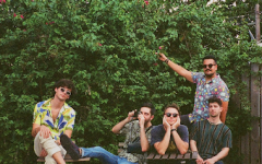 The Hails/ Kat DeBarros From left to right: Robbie Kingsley, Franco Solari, Dylan McCue, Zach Levy, Andre Escobar