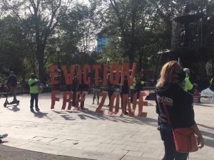 Rally hosted in Boston to stop evictions and foreclosures across Massachusetts