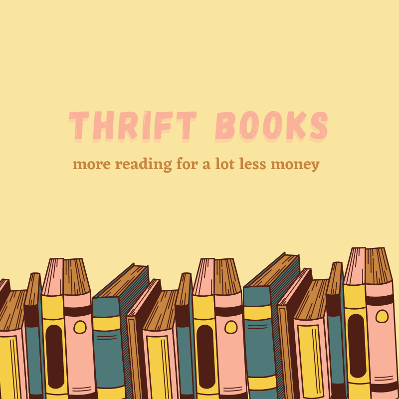 Thrift Books: more reading for a lot less money