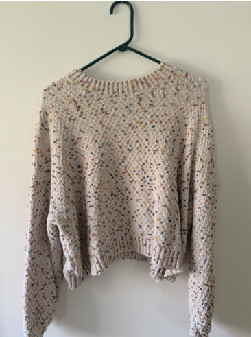 (Photo of a sweater from Buffalo Exchange)