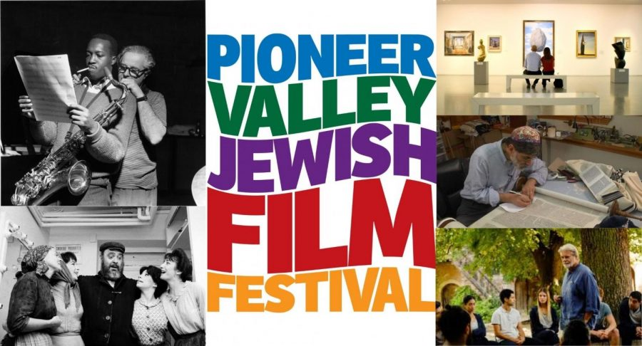 Pioneer Valley Jewish Film Festival promotional banner