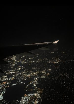 (View from an airplane window / Rebecca Duffy)