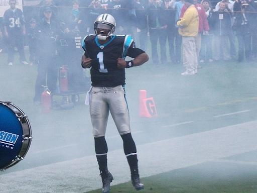 Cam Newton during his 2011 rookie season.