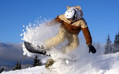 Snowboarding in Style