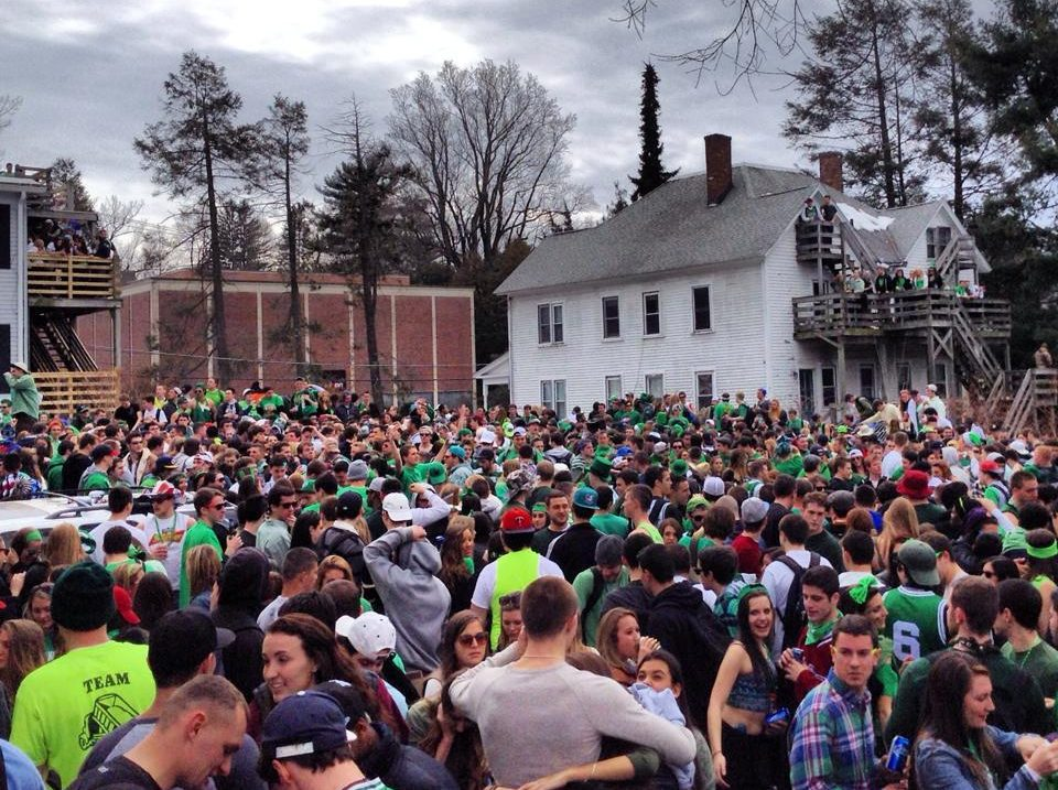 Blarney Blowout, 2014. (Taylor Theodore/Amherst Wire)