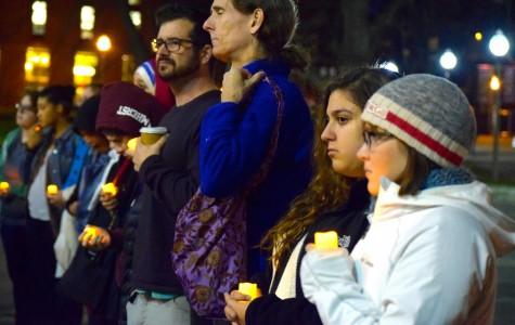 Muslim Students Association holds peace vigil