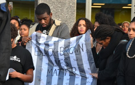 UMass students walk-out for Ferguson