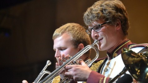 Music, dance, and fist pumps at the 40th Annual UMass Multiband Pops Concert