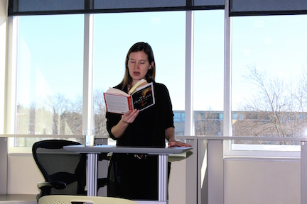 Journalism department hosts award-winning author Eula Biss