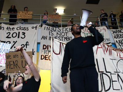 UMass students participate in nationwide Million Student March