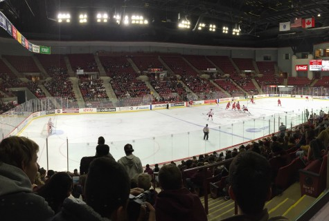 UMass men's hockey secures 5-2 win over Sacred Heart