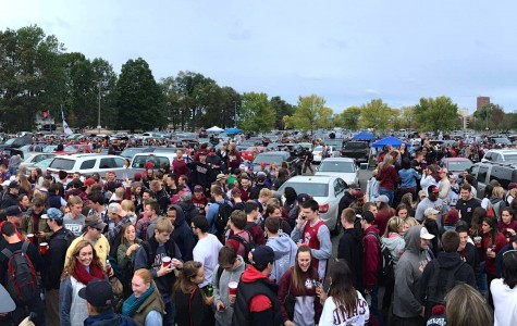 UMass tailgates cut down on the mess, not the fun
