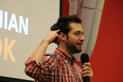 Reddit Co-Founder Alexis Ohanian visits UMass