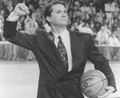UMass honors former coach John Calipari
