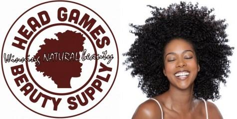 Head Games natural hair beauty supply  champions 'winning natural beauty'