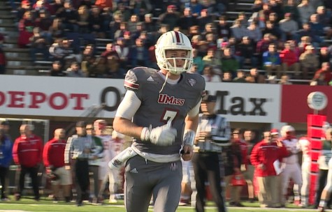 Frohnapfel discusses experiences as UMass quarterback and future plans